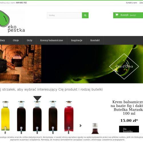 Oliwy w oryginalnych butelkach - Kraków