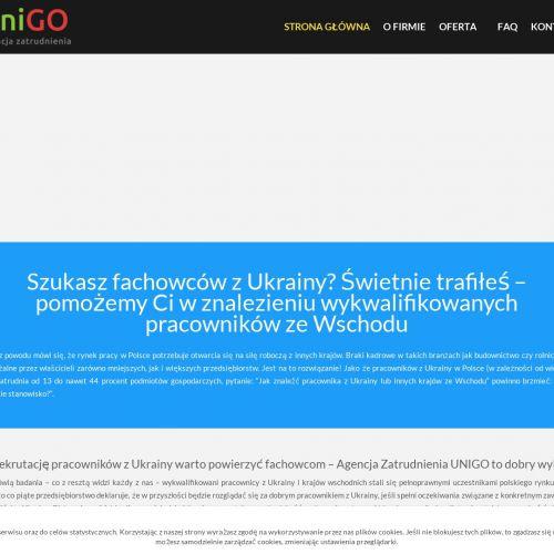 Fachowcy z ukrainy - Szczecin