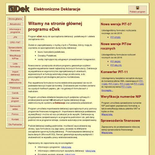 Program do wysyłanie deklaracji podatkowych pracowników