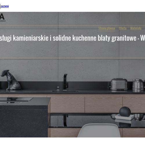 Warszawa - blaty kuchenne kamienne