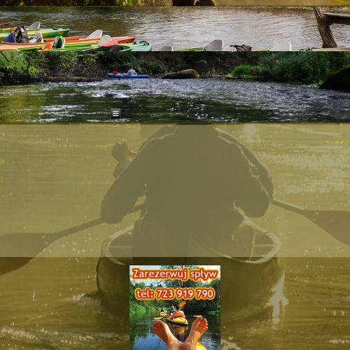 Zamość - spływy kajakowe wieprzem
