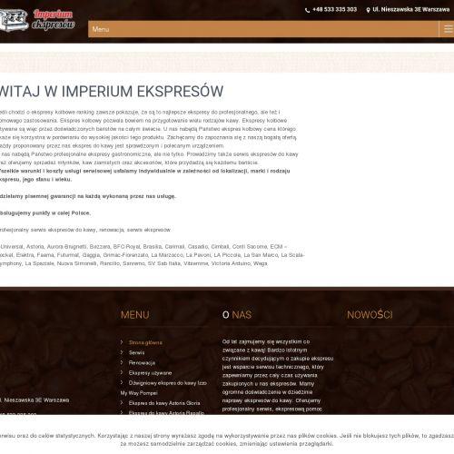 Warszawa - nuova simonelli oscar