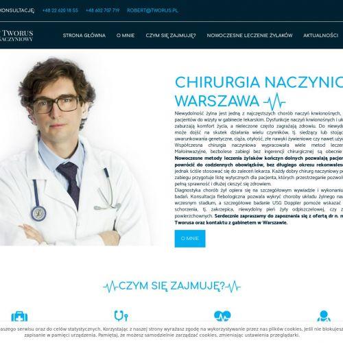 Warszawa - likwidowanie żylaków klejem