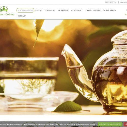 Herbata indyjska cena - Poznań