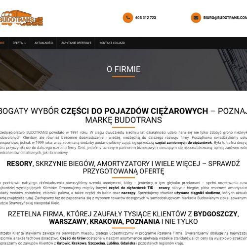 Używane części tir w Wrocławiu