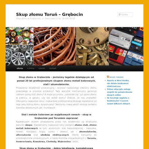 Recykling kabli - Toruń