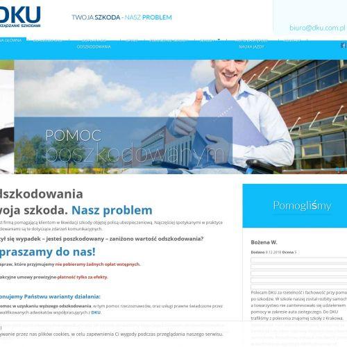 Pomoc przy uzyskaniu odszkodowania Kraków