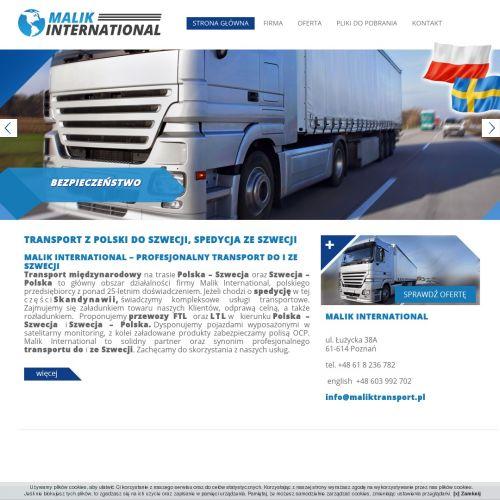 Transport szwecja polska