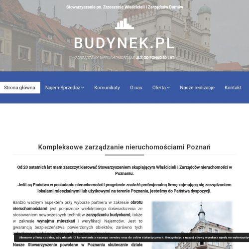 Zarządzanie nieruchomościami - Poznań