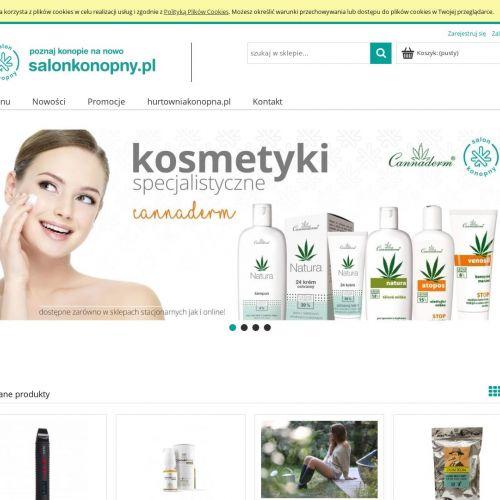 Kosmetyki z konopi