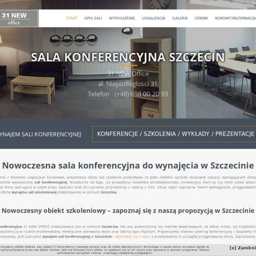 Szczecin - sale konferencyjne do wynajęcia