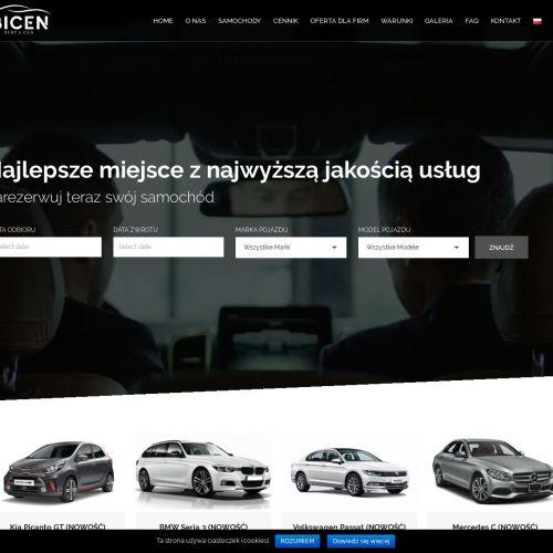Rent car w Warszawie