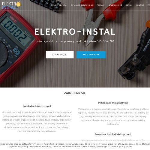 Naprawa instalacji elektrycznych w Krakowie