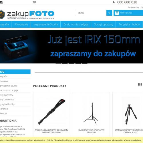Głowica manfrotto