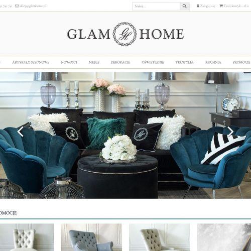 Sofa glamour sklep