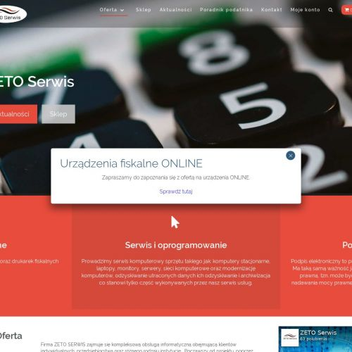 Kasa fiskalna online cena - Brzeg
