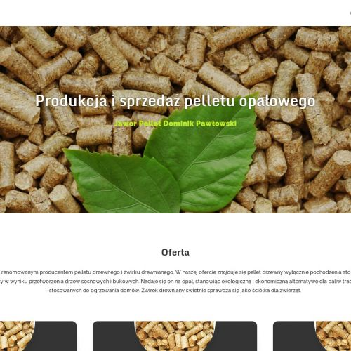 Producent pelletu drzewnego środa Wielkopolska - Kościan