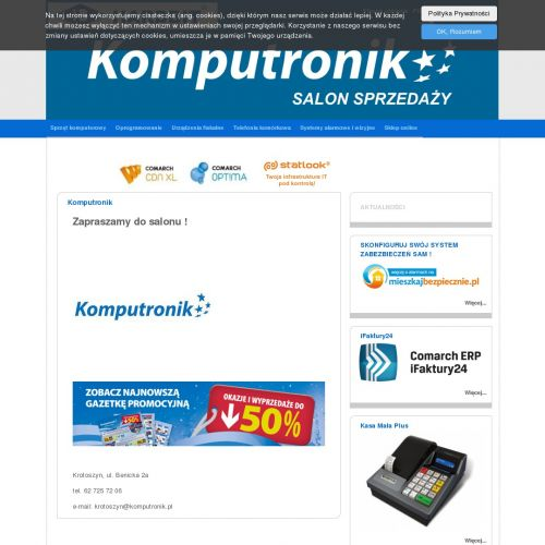 Kasa fiskalna online warsztat samochodowy w Gostyniu