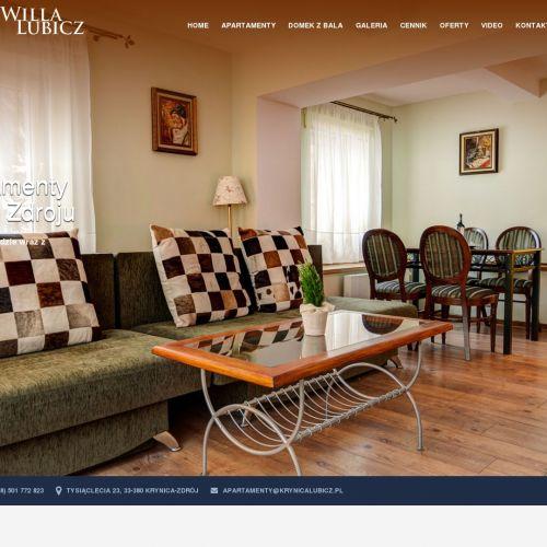 Krynica Zdrój - apartament z widokiem