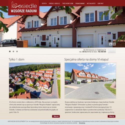 Nowe domy na sprzedaż juszkowo - Gdańsk
