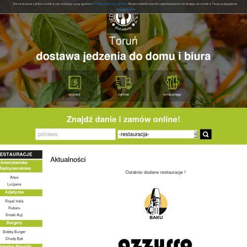 Pizza z dostawą w Toruniu