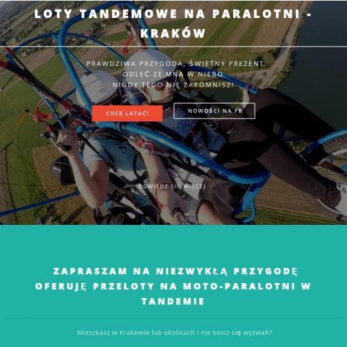 Lot tandemowy Kraków