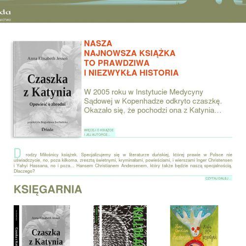 Polski wydawca książek