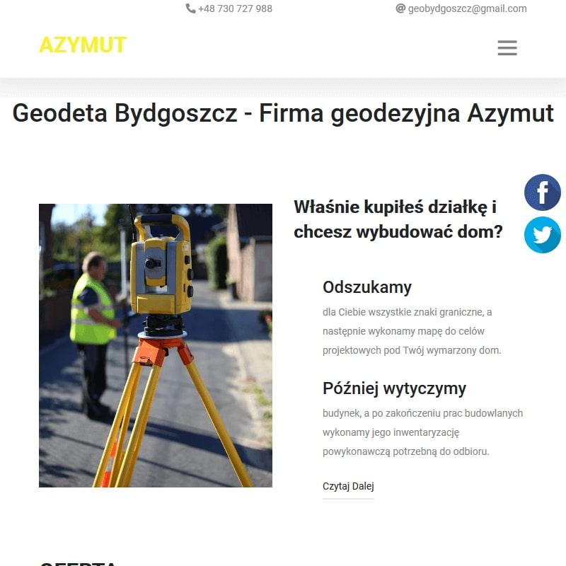 Geodezja kujawsko-pomorskie - Toruń