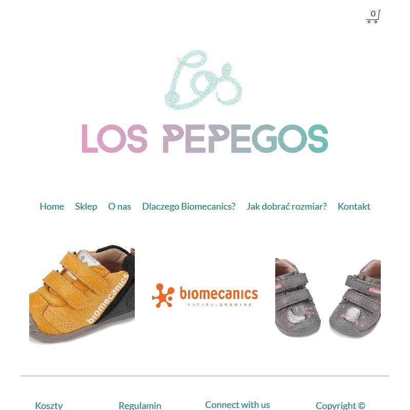 Buty dla malucha biomecanics