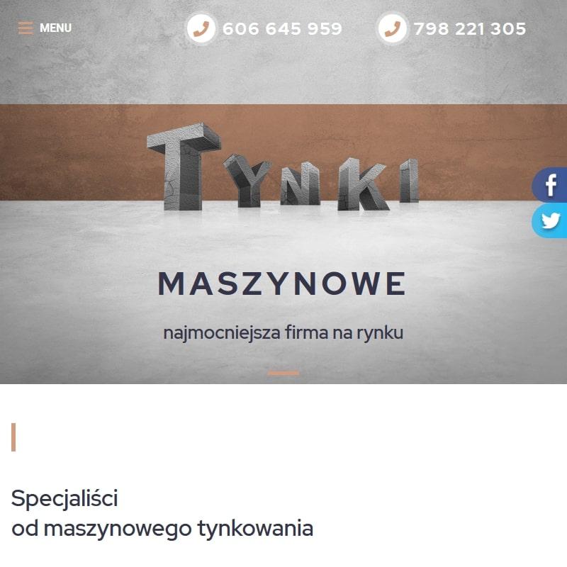 Tynki maszynowe bełchatów cena w Łodzi