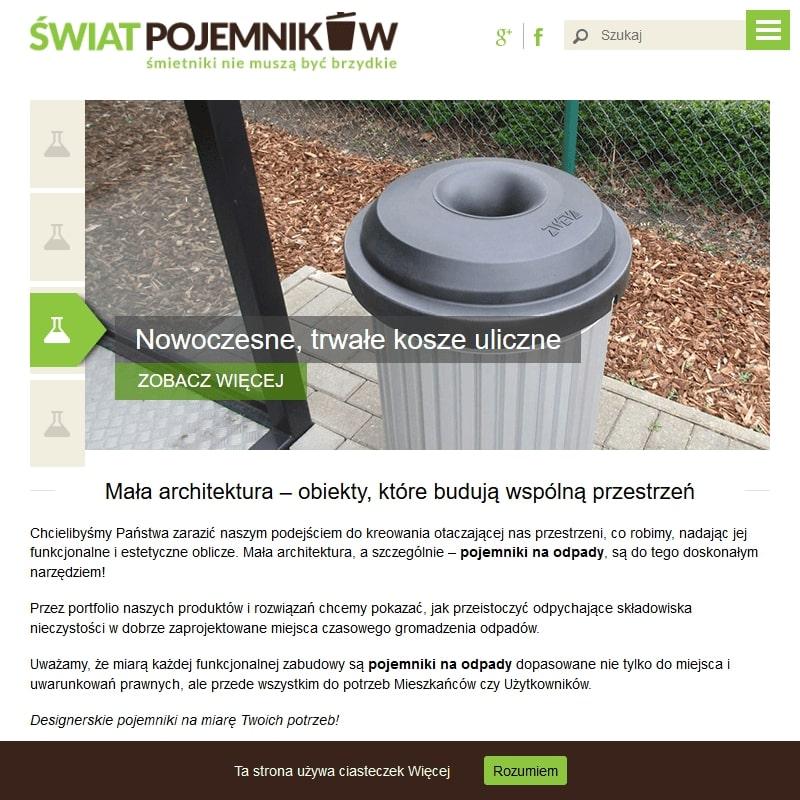 Śmietnik podziemny - Poznań