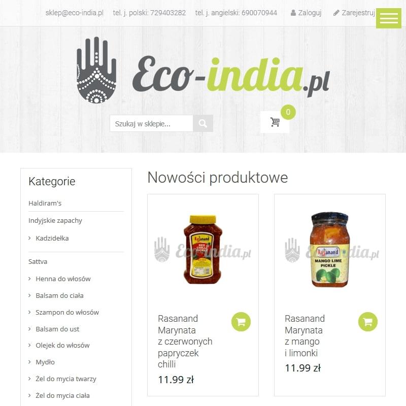 Indyjskie suplementy sklep online