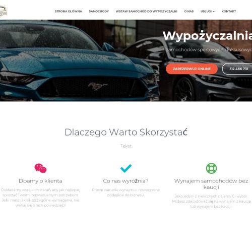 Warszawa - wypożyczalnia samochodów sportowych bez kaucji łódź