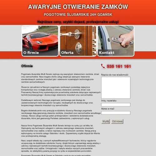 Awaryjne otwieranie zamków Gdańsk