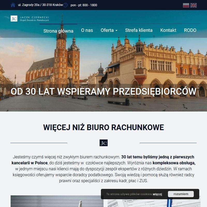 Kraków - biuro podatkowe