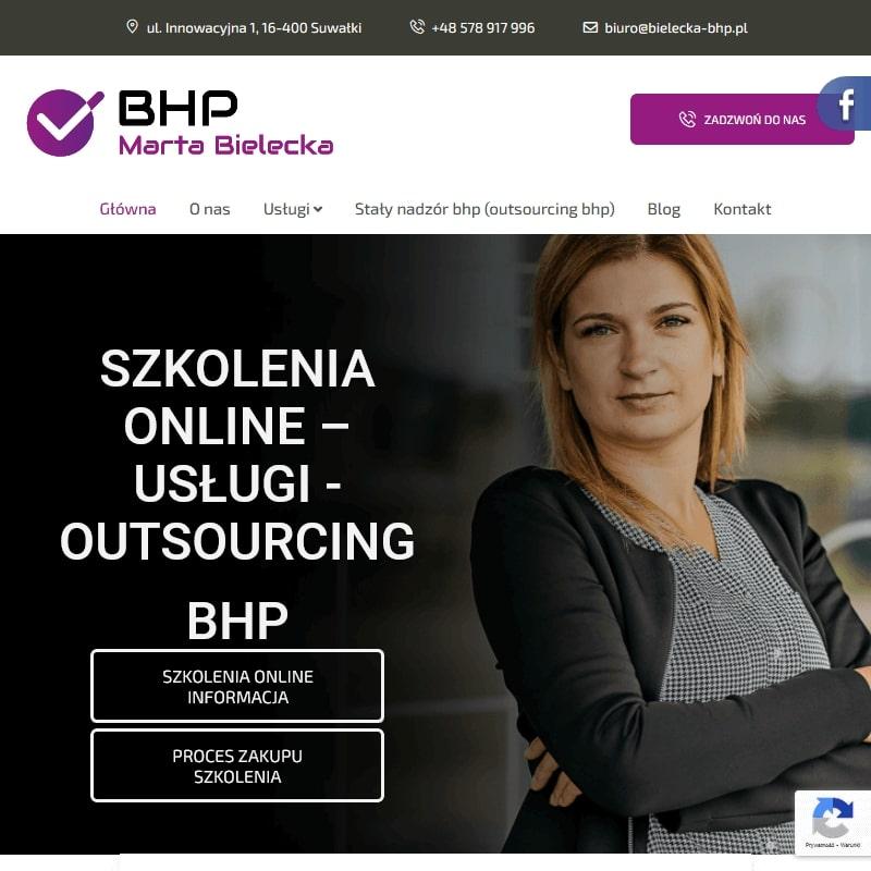 Internetowy kurs bhp Warszawa