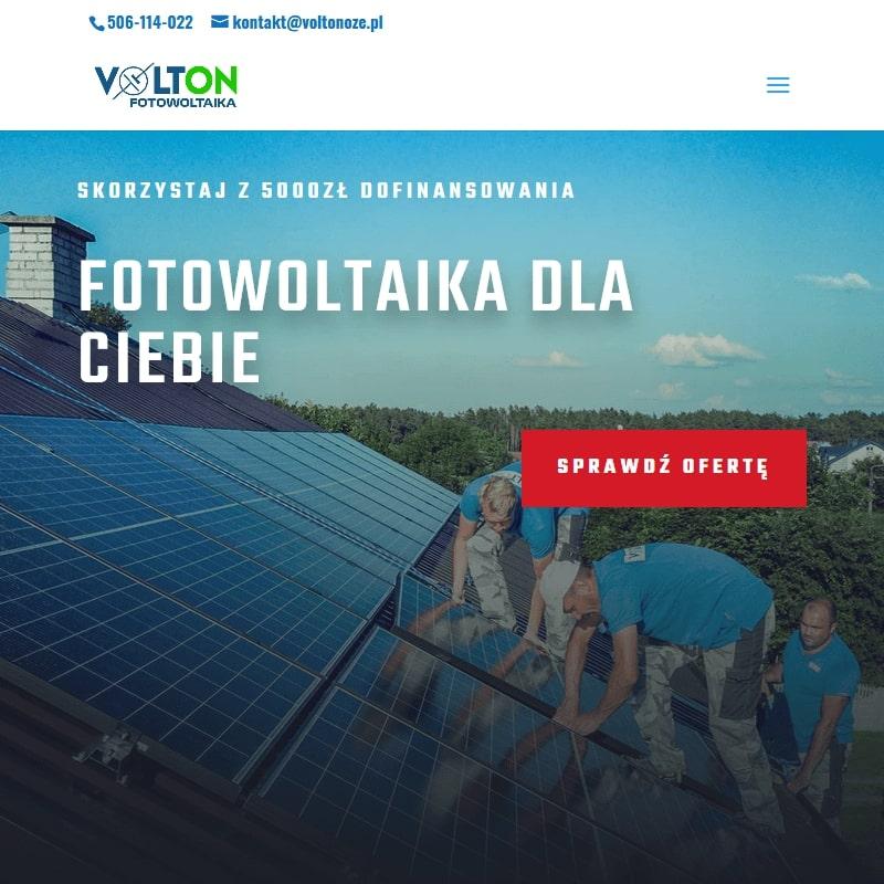 Gdańsk - montaż paneli fotowoltaicznych na blachodachówce