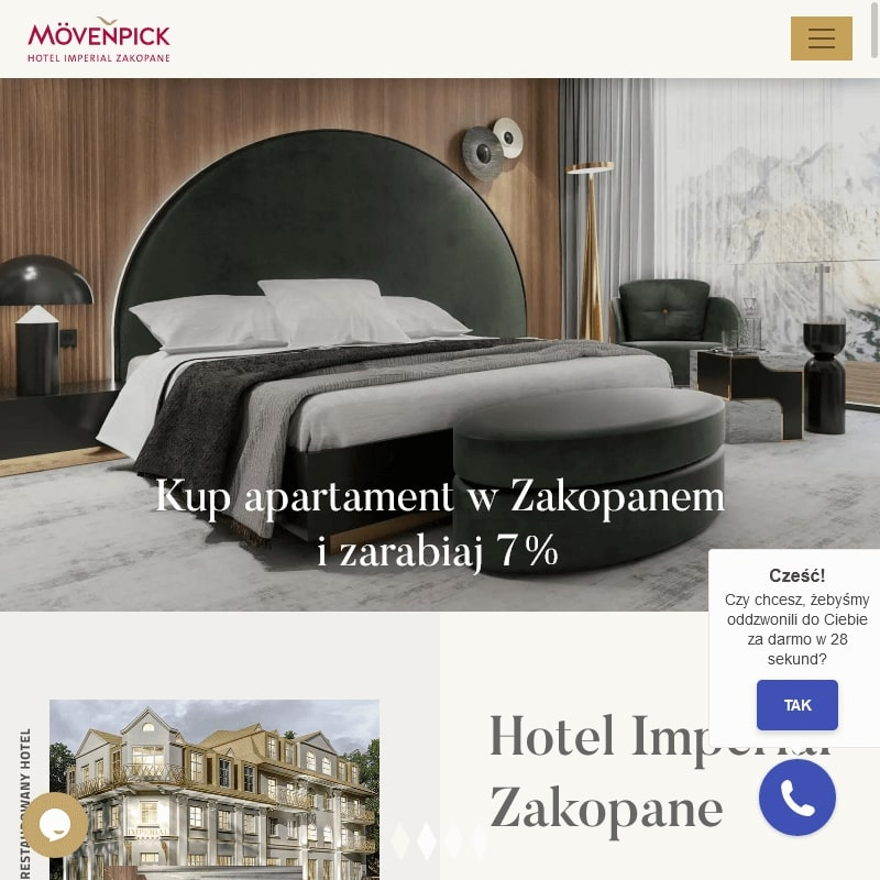 Zakopane - zainwestuję w hotel