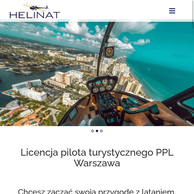Licencja pilota śmigłowca koszt w Warszawie