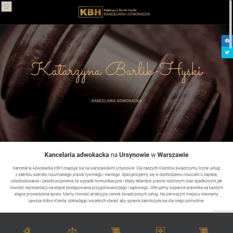 Prawnik rozwodowy Warszawa