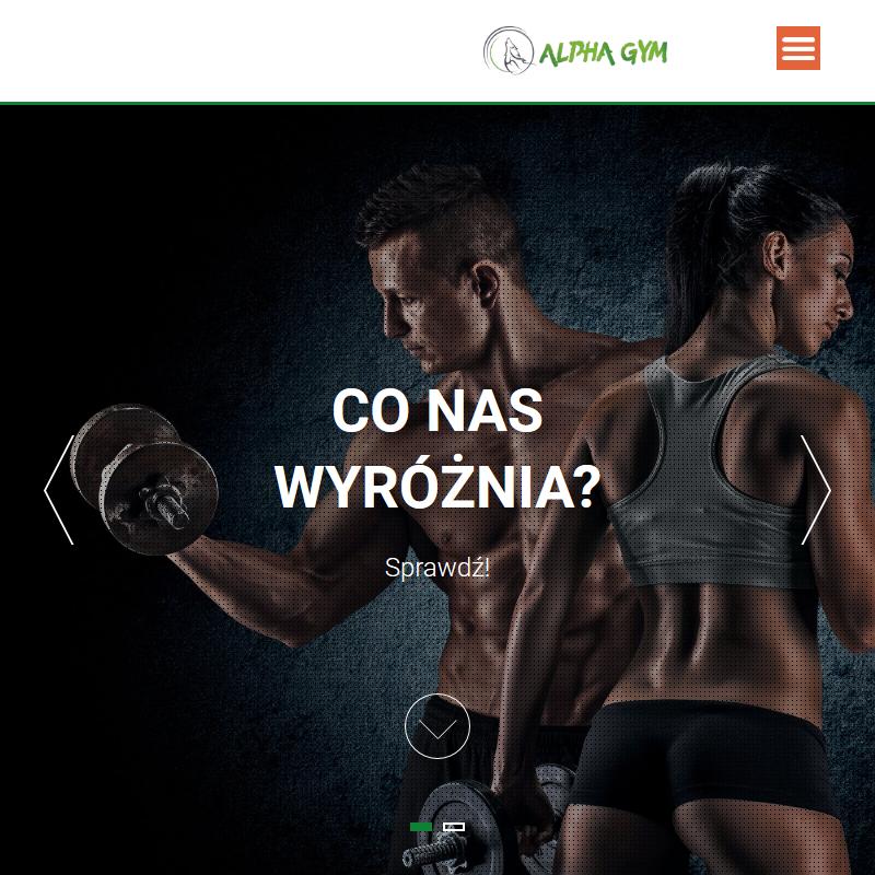 Klub fitness alphagym w Zielonej Górze