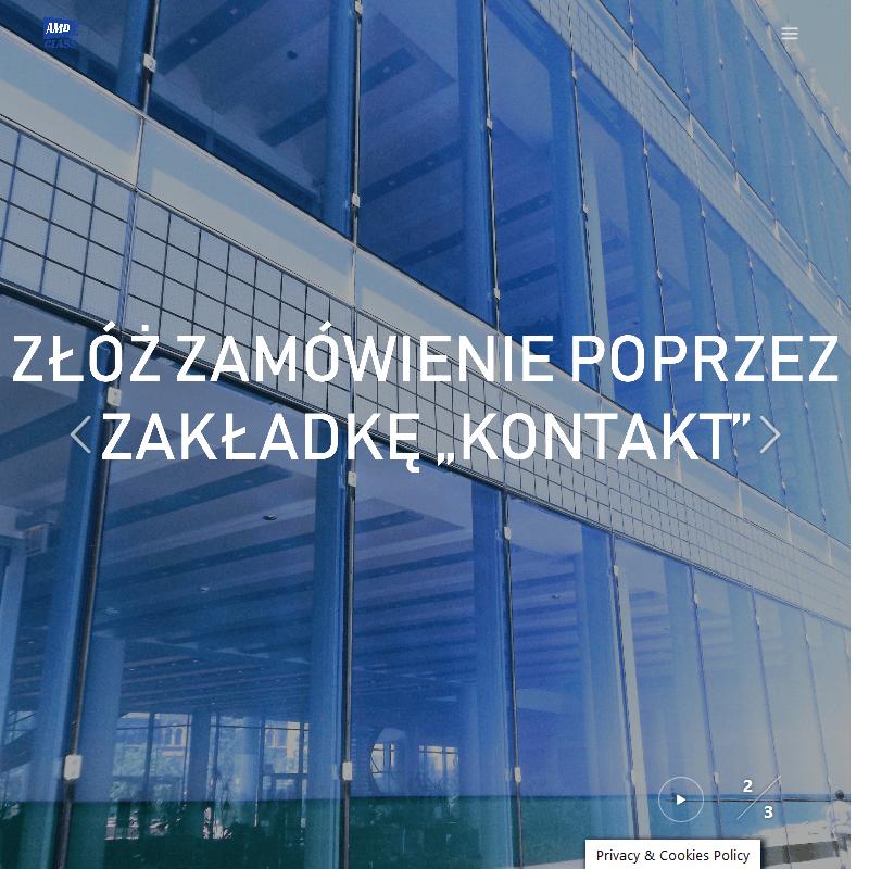 Warszawa - zabudowy szklane wilanów