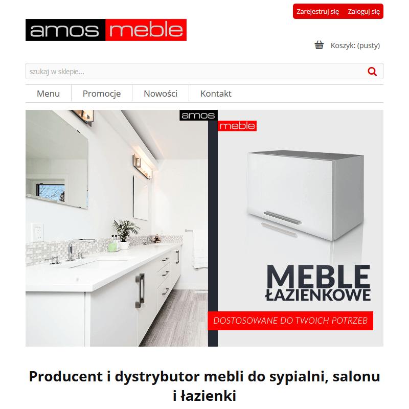 Wisząca szafka łazienkowa Kępno