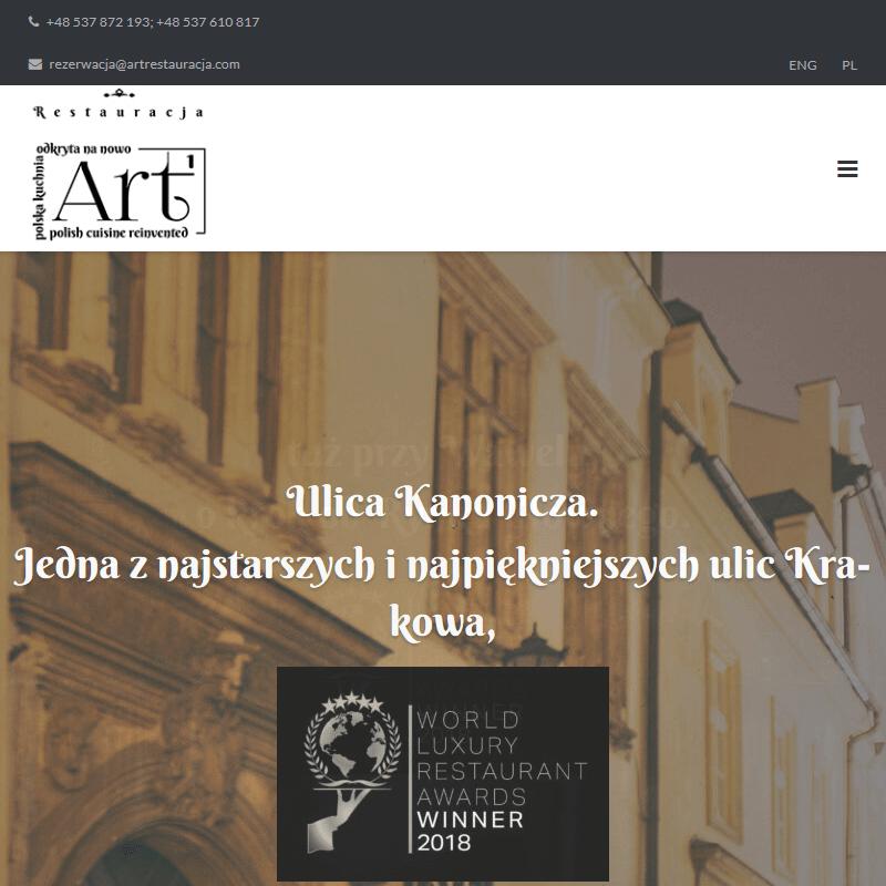 Autorska restauracja - Kraków