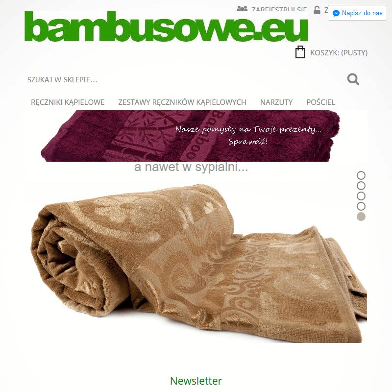 Ręczniki bambusowe dla niemowląt