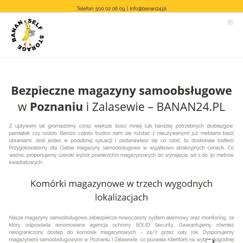 Boksy magazynowe do wynajęcia - Poznań