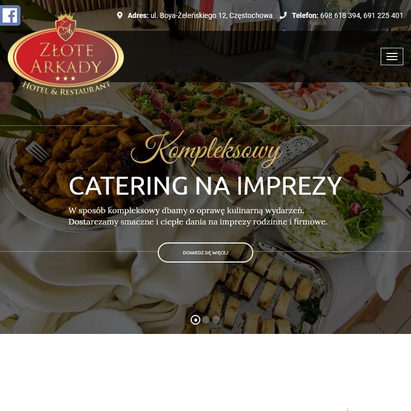 Catering komunijny - Zawiercie