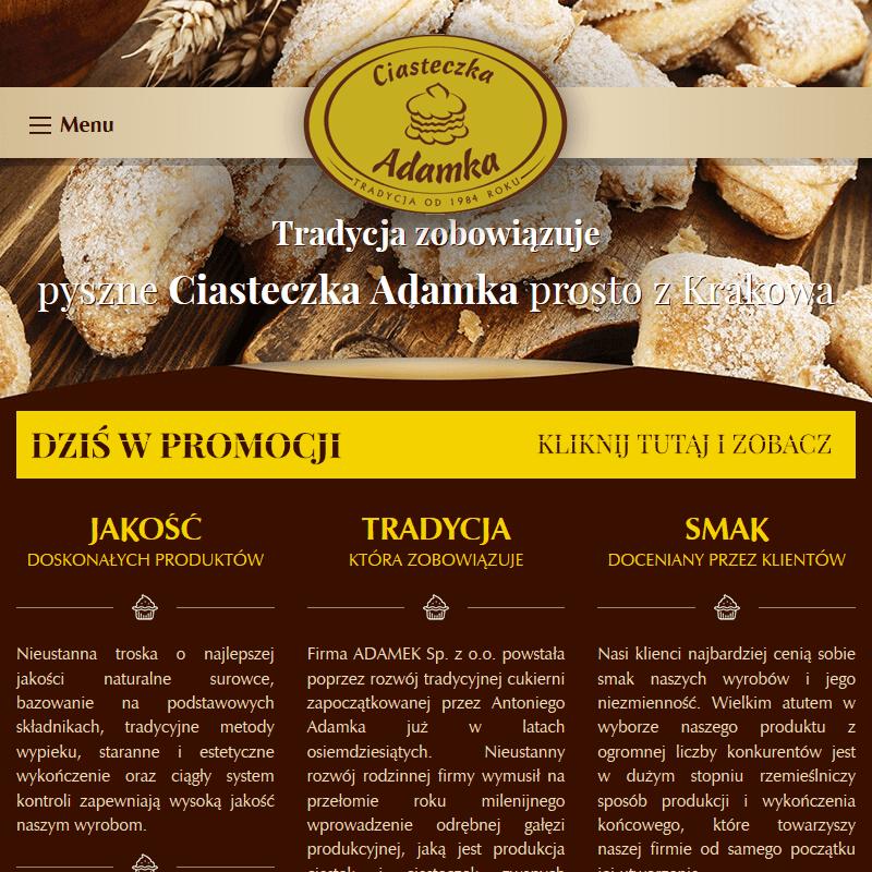 Kraków - dystrybutor ciastek