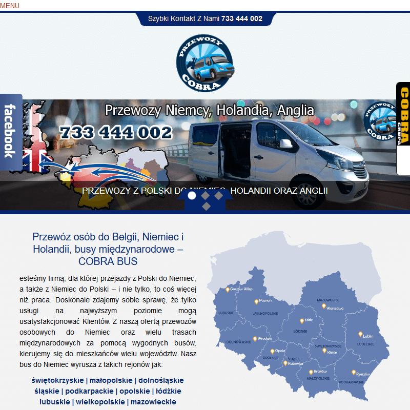 Przewozy polska niemcy wielkopolska w Warszawie
