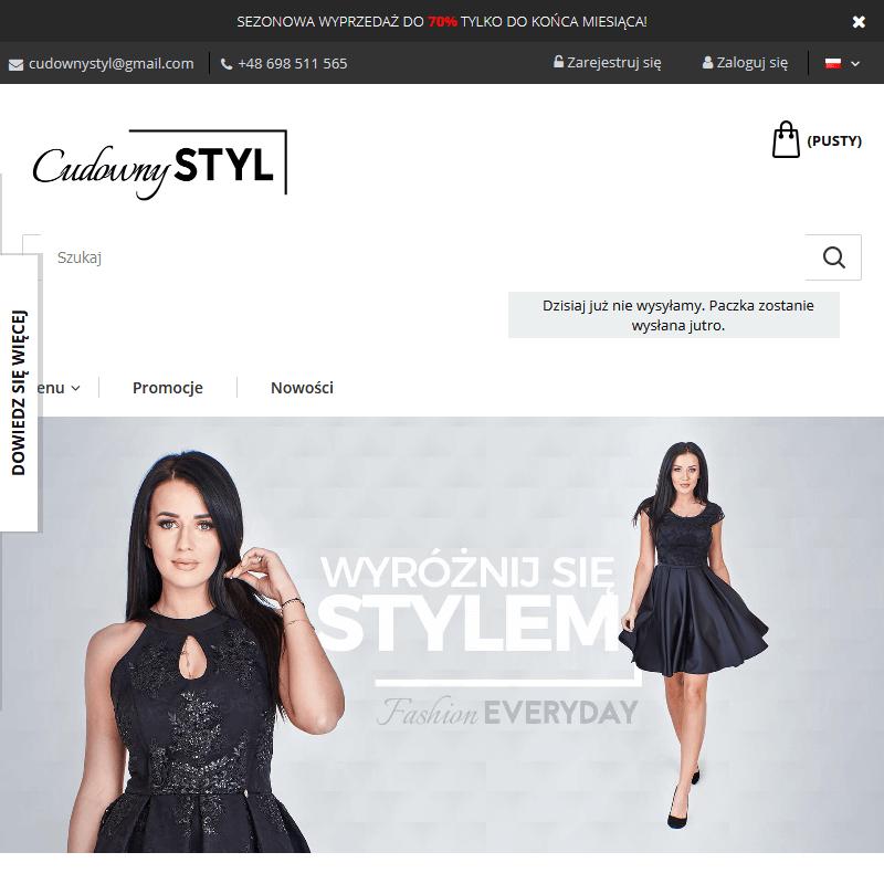 Sukienki na imprezę online